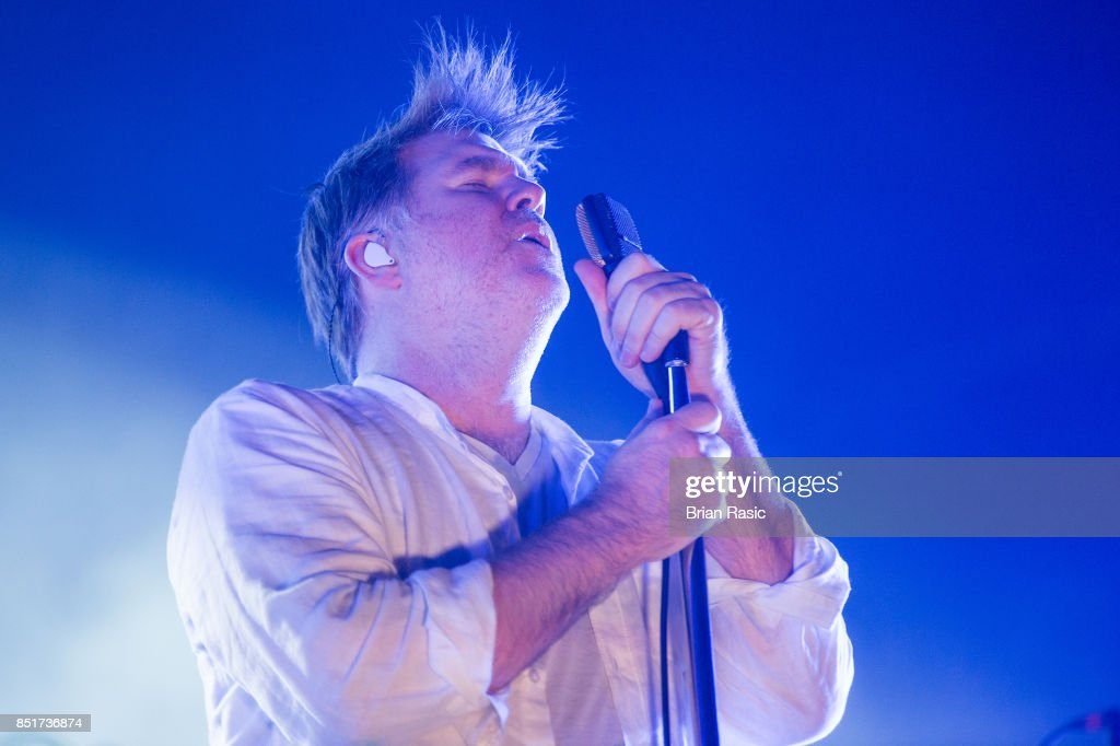 LCD Soundsystems Perform At Alexandra Palace