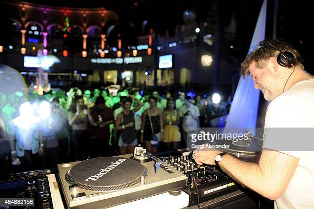 James Murphy performs at Lexus PopUp Concert Series Powered By Pandora at Gulfstream Park on August 20 2015 in Hallandale Florida