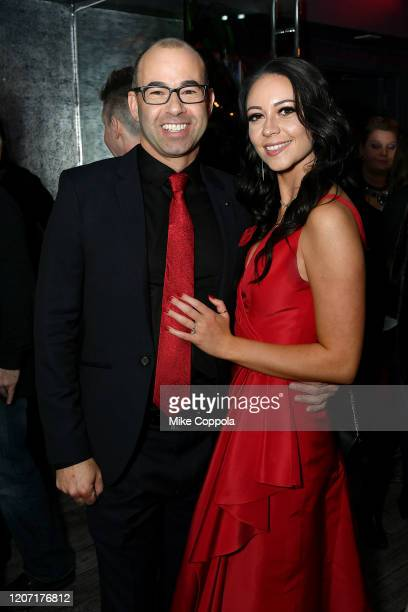 James Murray and Melyssa Davies attend the Impractical Jokers The Movie Premiere Screening and Party on February 18 2020 in New York City 739100