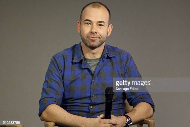James Murray attends Apple Store Soho Presents Meet The Impractical Jokers at Apple Store Soho on February 15 2016 in New York City