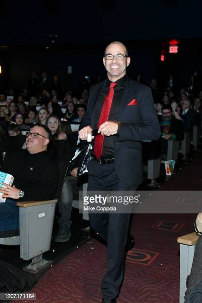 James Murray attends the Impractical Jokers The Movie Premiere Screening and Party on February 18 2020 in New York City 739100