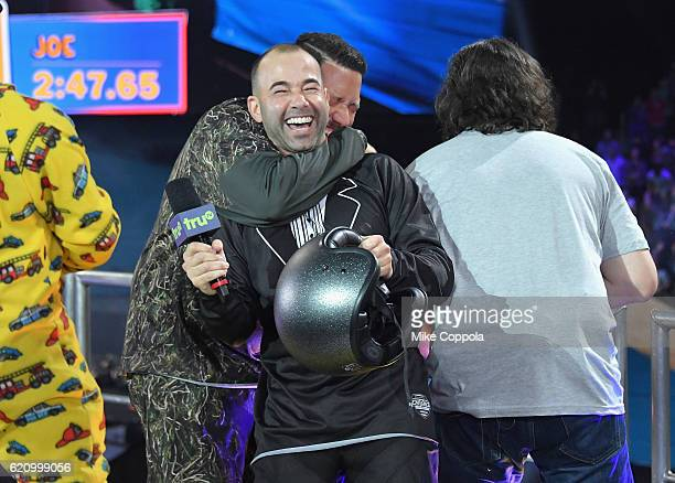 James Murray performs during Impractical Jokers Live Nitro Circus Spectacular at Prudential Center on November 3 2016 in Newark New Jersey JPG