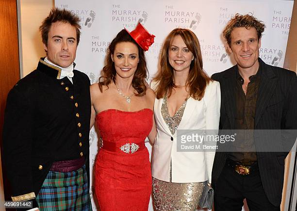 James Murray Sarah Parish Beverley Turner and James Cracknell attend The Odd Ball 'hosted by The Murray Parish Trust at The Royal Garden Hotel on...