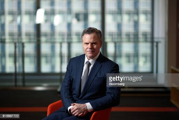 James Murren chairman and chief executive officer of MGM Resorts International poses for a photograph in Tokyo Japan on Friday Feb 9 2018 Murren is...