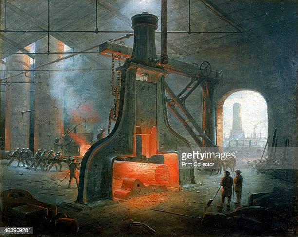 James Nasmyth's steam hammer erected in his foundry near Manchester in 1832 The steam hammer was invented by the Scottish engineer and inventor James...