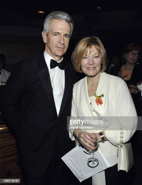 James Naughton and Jane Curtain during Symphony Space Gala Honoring Legends and Friends March 12 2007 at Mandarin Oriental Hotel in New York City New...