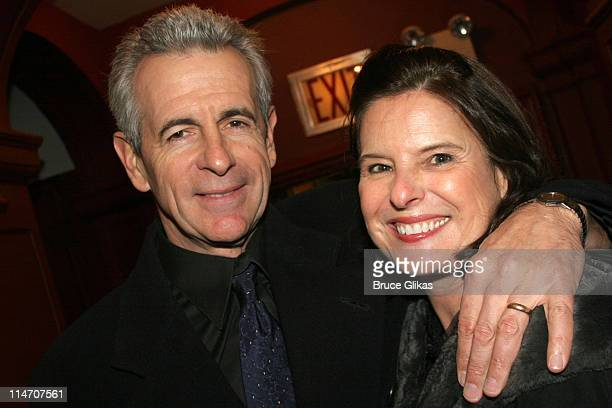 James Naughton and wife Pam Naughton during Sarah Jones' Bridge and Tunnel Broadway Opening Night Arrivals at Helen Hayes Theatre in New York City...