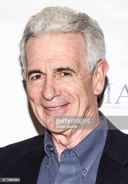 James Naughton attends the 2016 Broadway Supports The NMA at Sardi's on March 24 2016 in New York City