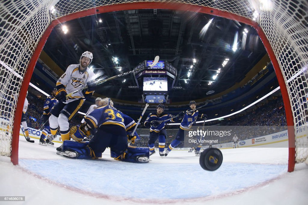 Nashville Predators v St Louis Blues - Game Two