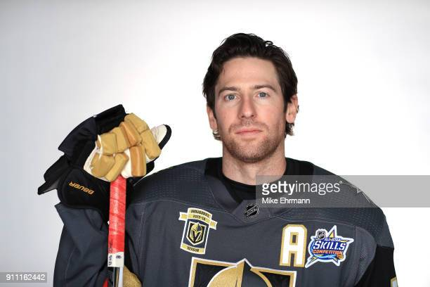 James Neal of the Vegas Golden Knights poses for a portrait during the 2018 NHL AllStar at Amalie Arena on January 27 2018 in Tampa Florida