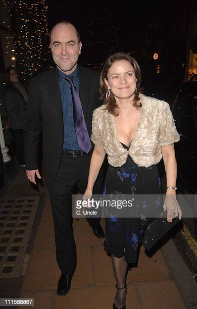 James Nesbitt and guest during Match Point London Premiere After Party at Asprey London in London Great Britain