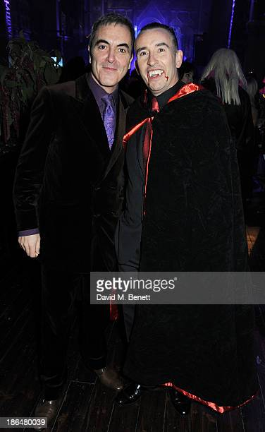James Nesbitt and Steve Coogan attend the UNICEF UK Halloween Ball hosted by Jemima Khan raising vital funds for UNICEF's work for children affected...