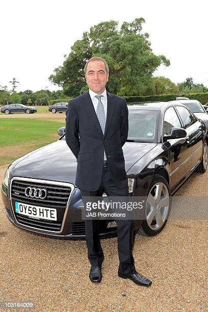James Nesbitt attends Audi Lunch at Goodwood House on Ladies Day at the Glorious Goodwood Festival at Goodwood on July 29, 2010 in Chichester,...