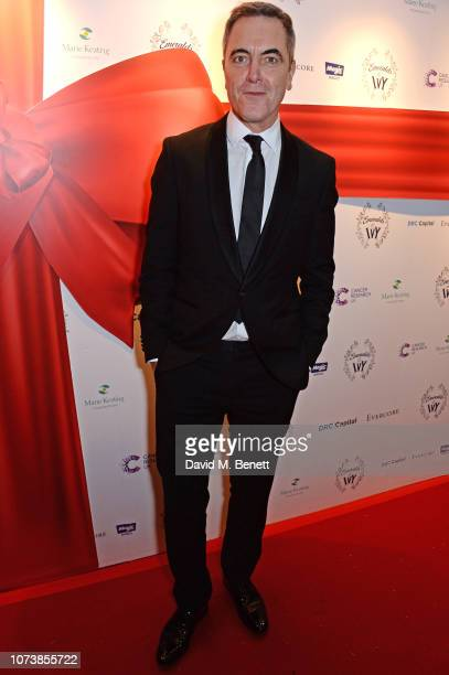 James Nesbitt attends the 12th annual Emeralds Ivy Ball in aid of Cancer Research UK and The Marie Keating Foundation at The Royal Horticultural...