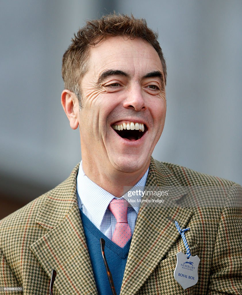 James Nesbitt attends the 60th Hennessy Gold Cup at Newbury Racecourse on November 26, 2016 in Newbury, England.