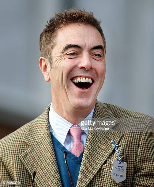 James Nesbitt attends the 60th Hennessy Gold Cup at Newbury Racecourse on November 26 2016 in Newbury England