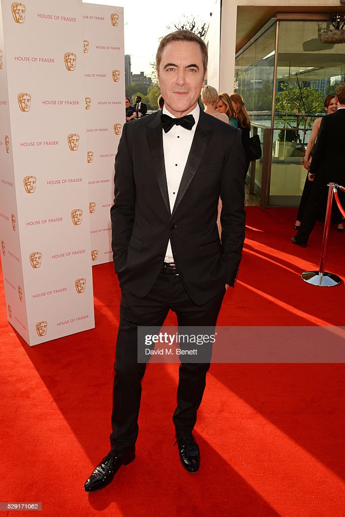 James Nesbitt attends the House Of Fraser British Academy Television Awards 2016 at the Royal Festival Hall on May 8, 2016 in London, England.