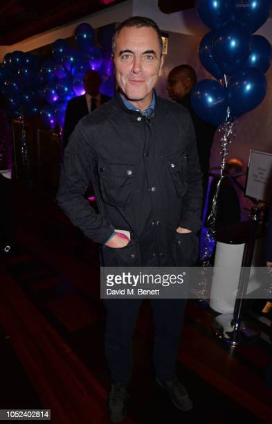 James Nesbitt attends the press night after party for Company at The Prince of Wales Theatre on October 17 2018 in London England