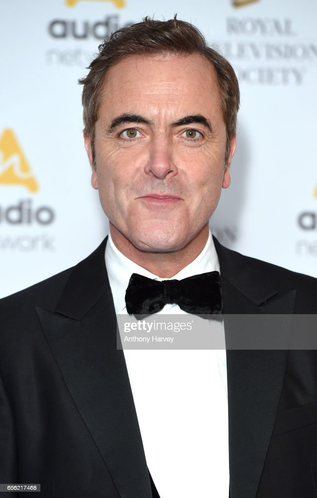 James Nesbitt attends the Royal Television Society Programme Awards on March 21, 2017 in London, United Kingdom.