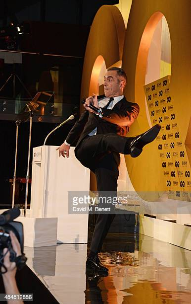 James Nesbitt hosts the GQ Men Of The Year awards in association with Hugo Boss at The Royal Opera House on September 2 2014 in London England