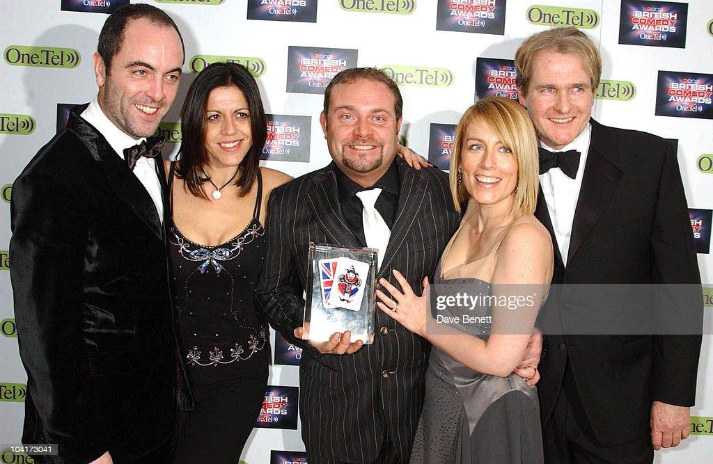 James Nesbitt, Jessie Sallis, John Thomson, Fay Ripley And Robert Bathhurst, British Comedy Awards At Lwt Studios In London