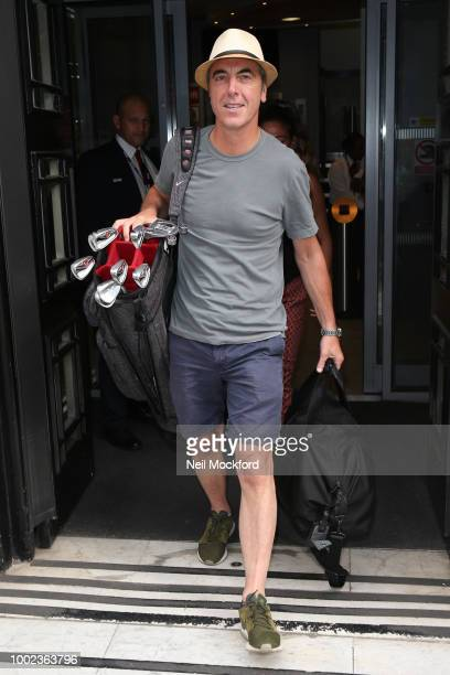 James Nesbitt seen at BBC Radio 2 after appearing on the Chris Evan's Breakfast Show on July 20 2018 in London England