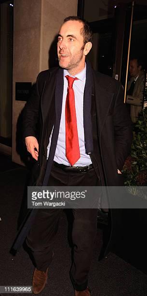 James Nesbitt sighting in central London on December 16 2008 in London England
