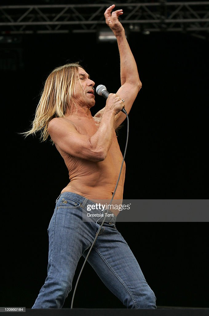 James Newell Osterberg Jr. aka Iggy Pop of Iggy and the Stooges