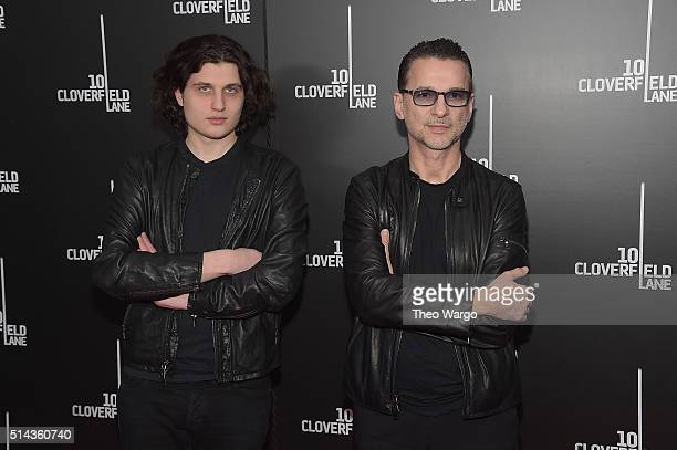 James Nicholas RogersGahan and Singersongwriter Dave Gahan attend the 10 Cloverfield Lane New York premiere at AMC Loews Lincoln Square 13 theater on...