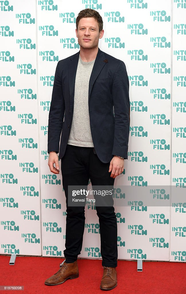 James Norton arrives for the 2016 Into Film Awards at Odeon Leicester Square on March 15, 2016 in London, England.