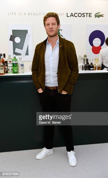 James Norton attends Lacoste VIP Lounge at the 2017 ATP World Tour Tennis Finals on November 19 2017 in London United Kingdom