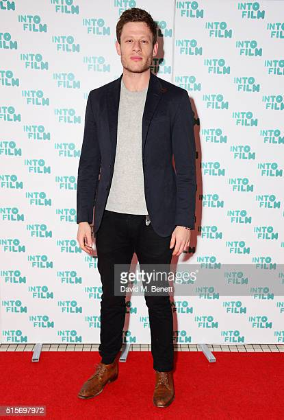 James Norton attends the 2016 Into Film Awards at Odeon Leicester Square on March 15 2016 in London England