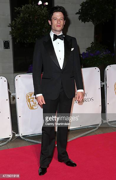James Norton attends the After Party dinner for the House of Fraser British Academy Television Awards at The Grosvenor House Hotel on May 10 2015 in...