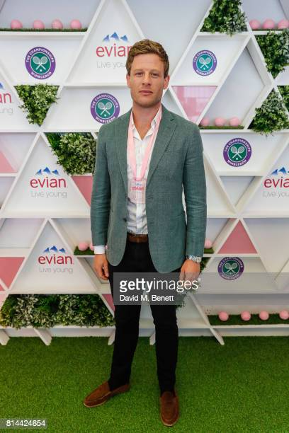 James Norton attends the evian Live Young suite during Wimbledon 2017 on July 14 2017 in London England