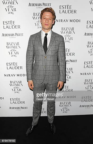 James Norton attends the Harper's Bazaar Women of the Year Awards 2016 at Claridge's Hotel on October 31 2016 in London England