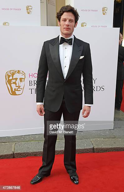 James Norton attends the House of Fraser British Academy Television Awards at Theatre Royal Drury Lane on May 10 2015 in London England