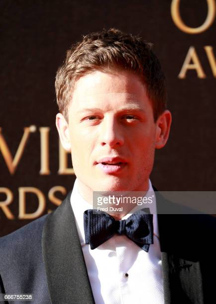 James Norton attends The Olivier Awards 2017 at Royal Albert Hall on April 9 2017 in London England