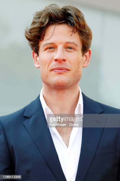 James Norton attends the premiere for 'Nowhere Special' at the 77th Venice Film Festival on September 10, 2020 in Venice, Italy.