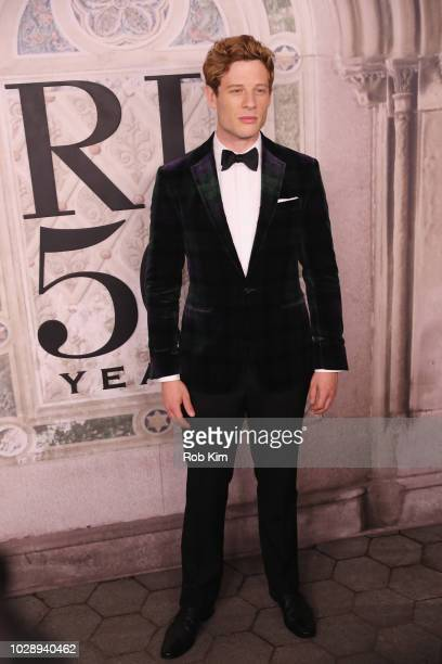 James Norton attends the Ralph Lauren fashion show during New York Fashion Week at Bethesda Terrace on September 7 2018 in New York City