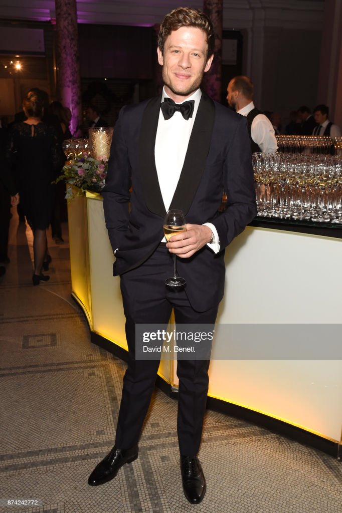 James Norton attends The Sugarplum Dinner 2017 in aid of type 1 diabetes charity JDRF at The V&A on November 14, 2017 in London, England.