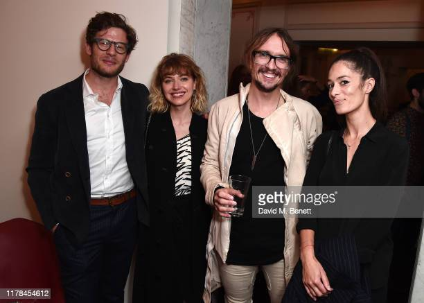 "James Norton, Imogen Poots, Justin Hawkins attend the English National Opera's opening night of the season featuring a performance of ""Orpheus and..."