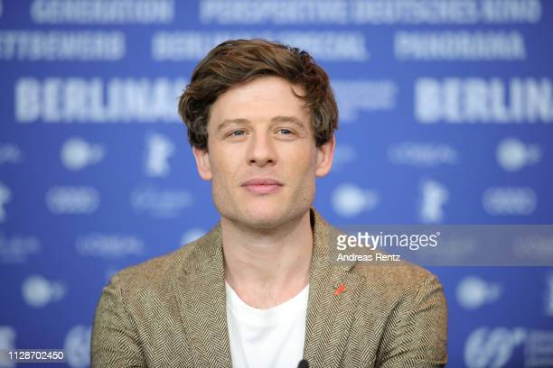 James Norton is seen at the Mr Jones press conference during the 69th Berlinale International Film Festival Berlin at Grand Hyatt Hotel on February...