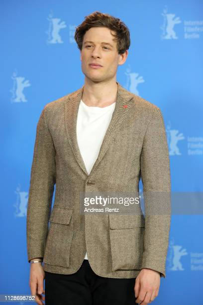 James Norton poses at the Mr Jones photocall during the 69th Berlinale International Film Festival Berlin at Grand Hyatt Hotel on February 10 2019 in...