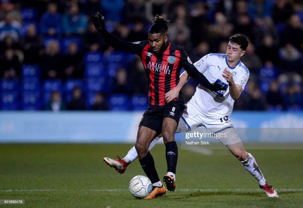 Tranmere Rovers v Macclesfield Town - Vanarama National League : Foto di attualità