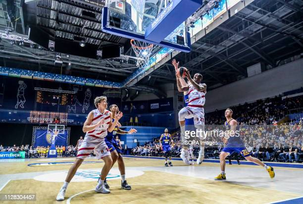 James Nunnally Seen in action during AX Armani Exchange Olimpia Milan against Khimki Moscow in the 2018/2019 Turkish Airlines Euro league Regular...