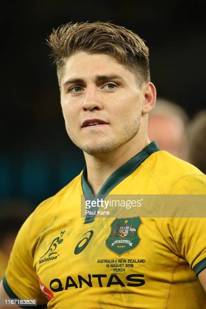 James O'Connor of the Wallabies looks on after winning the 2019 Rugby Championship Test Match between the Australian Wallabies and the New Zealand...
