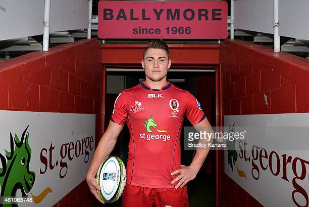 James O'Connor poses for a photo during a Queensland Reds media session at Ballymore Stadium on January 6 2015 in Brisbane Australia