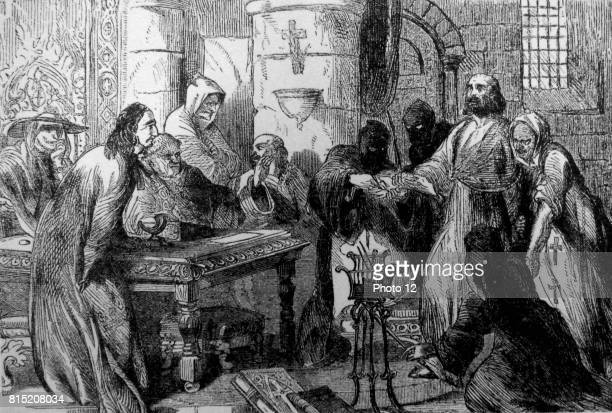 Jacques de Molay 23rd and last Grand Master of the Knights Templar leading the Order from 1292 until the Order was dissolved by order of Pope Clement...