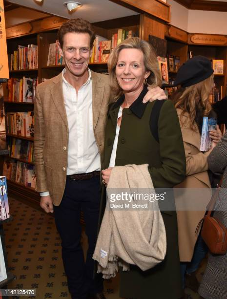 James Ogilvy and Marina Ogilvy attend the launch of new book Lomita For Ever by Trevor Eve at Hatchards on May 7 2019 in London England