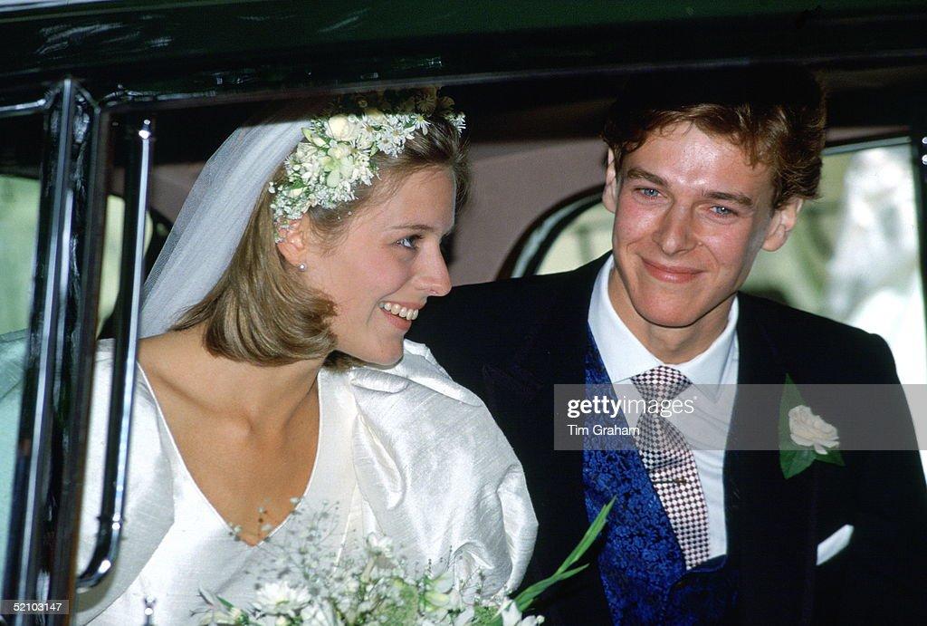 James And Julia Ogilvy : News Photo